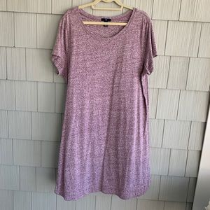 Gap Purple T-shirt Dress